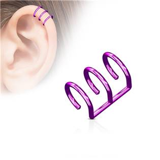 Falešný piercing do ucha