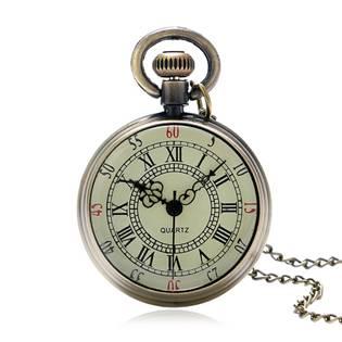 Retro kapesní hodinky - cibule malé
