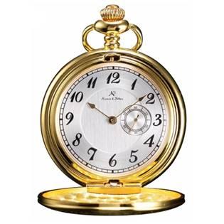Zlacené kapesní hodinky v dárkovém balení empty 1c7eed0489