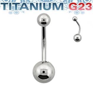 Piercing do pupíku - TITAN