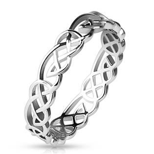Dámský prsten splétaný