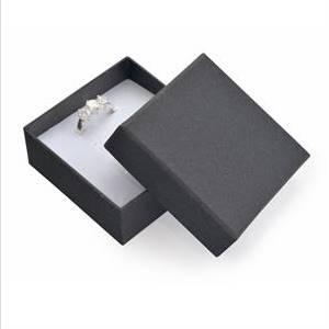 Dárková krabička na soupravu šperků - černá