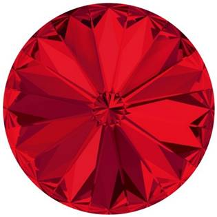 Crystals from Swarovski® RIVOLI 12 mm - SCARLET