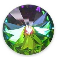 Crystals from Swarovski® RIVOLI 12 mm - VITRAIL DARK