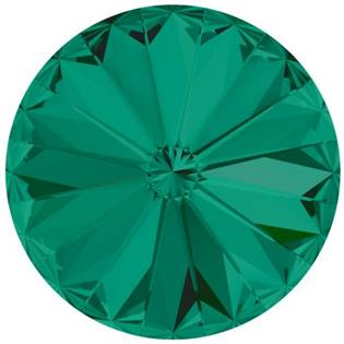 Crystals from Swarovski® RIVOLI 12 mm - EMERALD