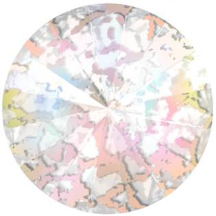 Crystals from Swarovski® RIVOLI 12 mm - CRYSTAL WHITE-PATINA