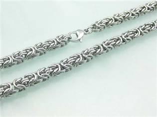 Pánský ocelový řetěz, tl. 8 mm, délka 60 cm