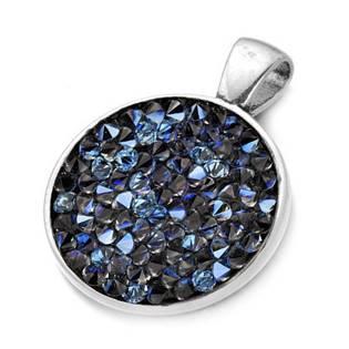 Přívěšek s krystaly Crystals from Swarovski® BLUELIZED