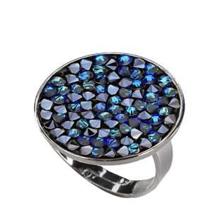 Prsten s krystaly Crystals from Swarovski® BERMUDA BLUE