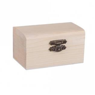 Dřevěná truhlička - šperkovnice