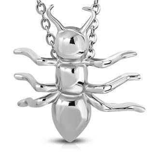 Ocelový přívěšek - mravenec