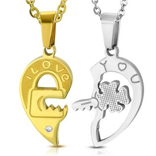 c5e709948 Partnerský přívěšek chirurgická ocel - 2 kusy | Levné ocelové šperky