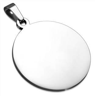 Ocelový přívěšek kruh