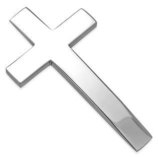 Ocelový přívěšek - kříž