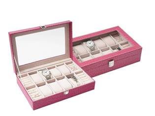 Šperkovnice na hodinky, náramky a prsteny