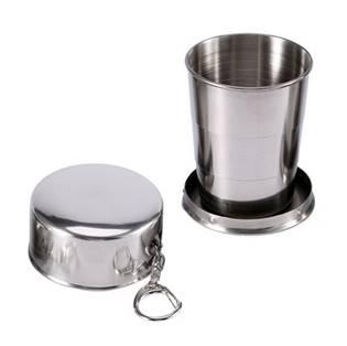 Skládací nerezový pohárek - kalíšek 150 ml