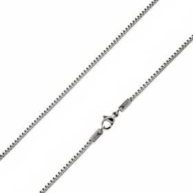 Ocelový řetízek čtvercový, tl. 2 mm