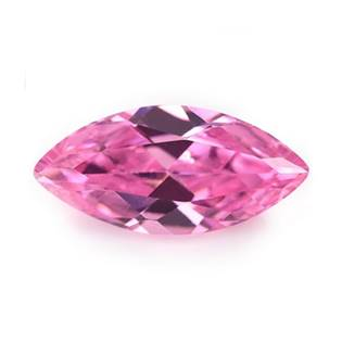 CZ Kubický zirkon - Pink, 1,5 x 3 mm