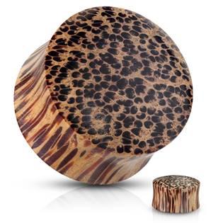 Plug do ucha z kokosového dřeva