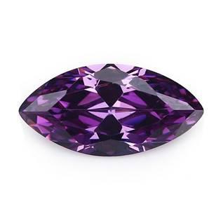 CZ Kubický zirkon - Purple 3 x 6 mm