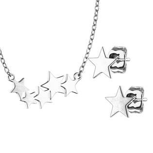 Set šperků z chirurgické oceli, hvězdičky