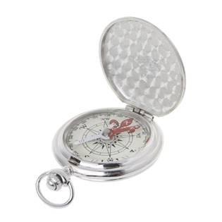 Kapesní kompas v uzavíratelném kovovém pouzdru
