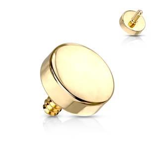 Microdermal piercing placička - ozdobná část