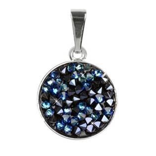 Přívěšek Crystals from Swarovski® 15mm, BERMUDA BLUE