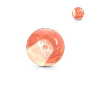 Náhradní kulička 1,2 mm, průměr 3 mm, barva oranžová