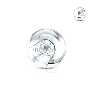 Náhradní kulička 1,6 mm, průměr 6 mm, barva čirá