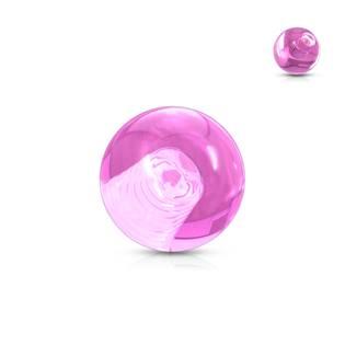 Náhradní kulička 1,2 mm, průměr 3 mm, barva růžová
