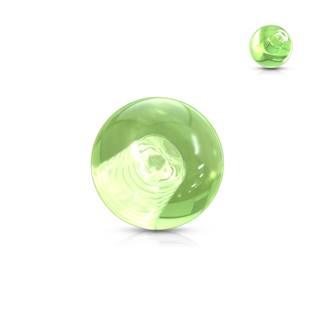 Náhradní kulička 1,6 mm, průměr 5 mm, barva zelená