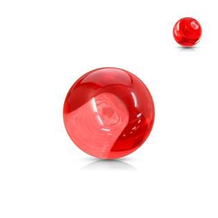 Náhradní kulička 1,6 mm, průměr 6 mm, barva červená