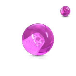 Náhradní kulička 1,6 mm, průměr 5 mm, barva fialová