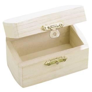 Malá dřevěná krabička