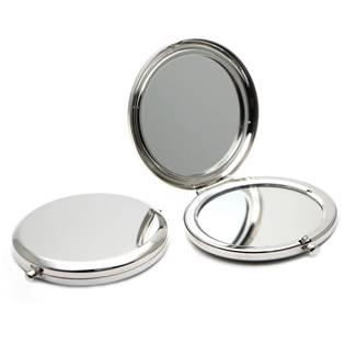 Kosmetické zrcátko kulaté 70 mm, lesklý povrch