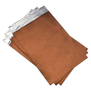 Dárkový sáček meděný matný 75 x 120 mm