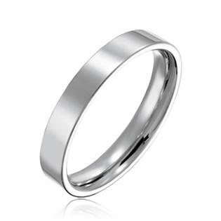 NSS3004 Prsten chirurgická ocel, šíře 4 mm