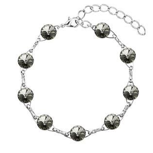 Náramek bižuterie se Swarovski krystaly, Blask Diamond