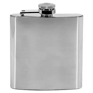 Ocelová kapesní lahev - placatka lesklá 175ml v dárkovém balení