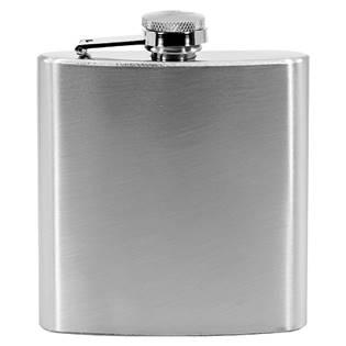 Ocelová kapesní lahev - placatka matná 175ml v dárkovém balení