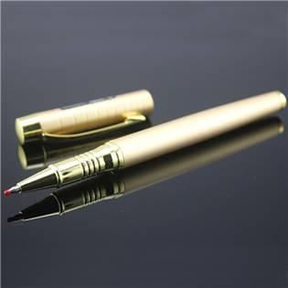 Kuličkové pero, barva zlatá