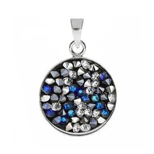 Přívěšek Crystals from Swarovski® 15mm, BERMUDA BLUE PEPPER