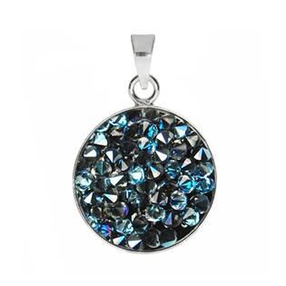 Přívěšek Crystals from Swarovski® 15mm, BLUELIZED