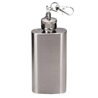 MINI kapesní lahev - placatka, přívěšek na klíče 60ml