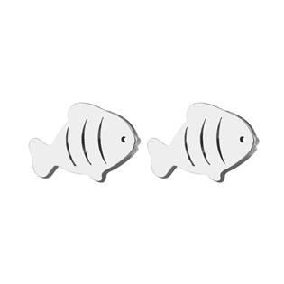 Ocelové náušnice - rybky