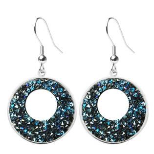 Náušnice VICTORY Crystals from Swarovski® BLUELIZED