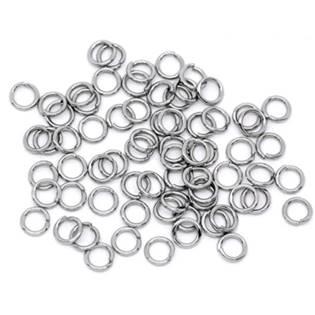 komponenty - ocelový kroužek 0,8x7 mm