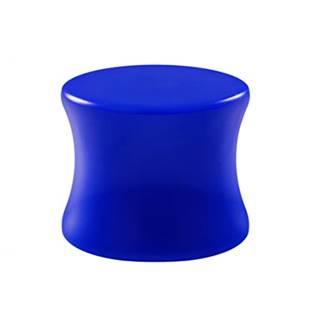 Akrylátový plug do ucha modrý