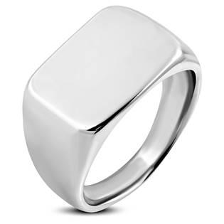 Pečetní ocelový prsten, vel. 62